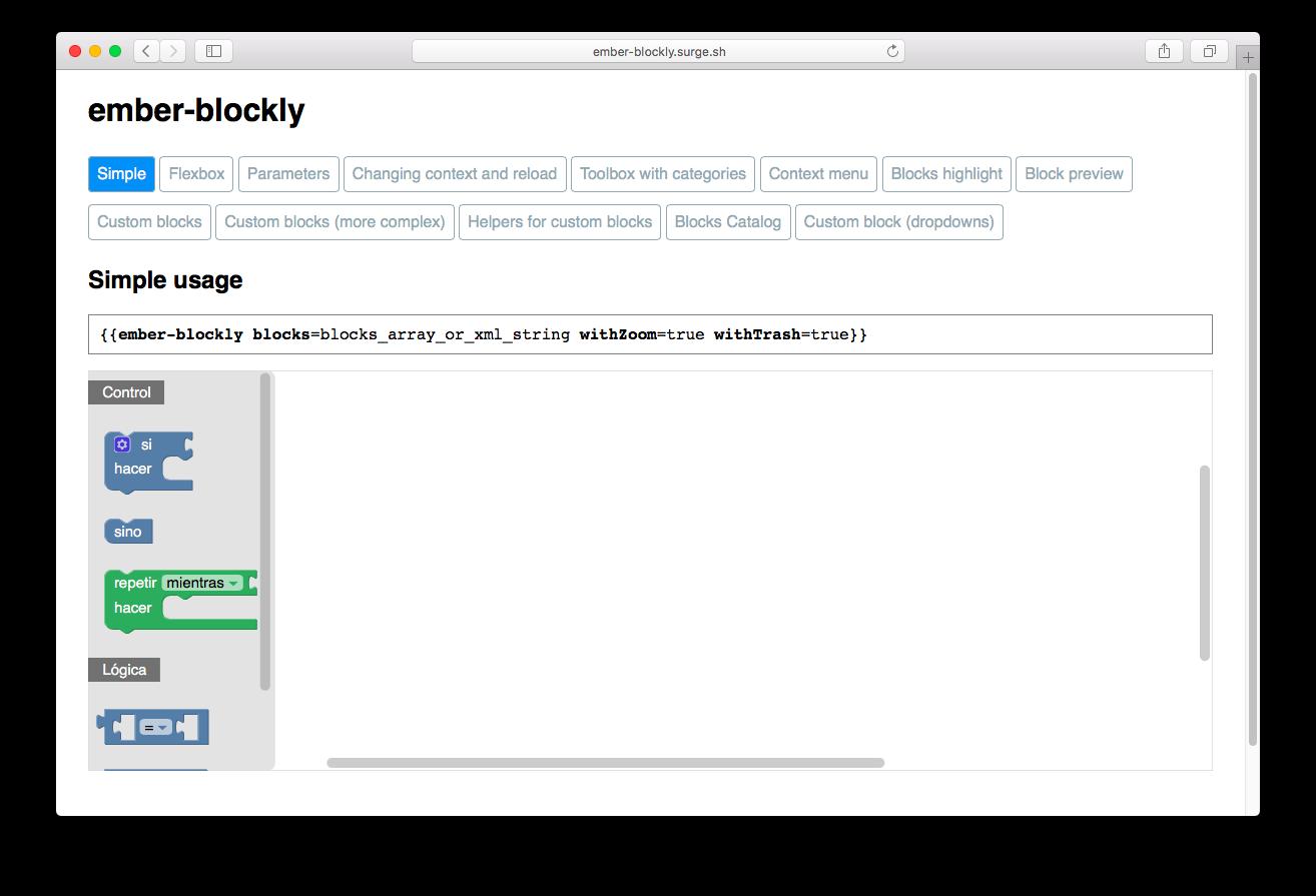 ember-blockly - npm