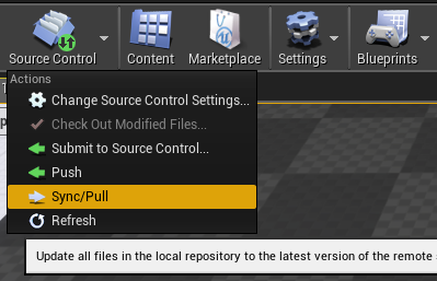 Source Control Status Tooltip
