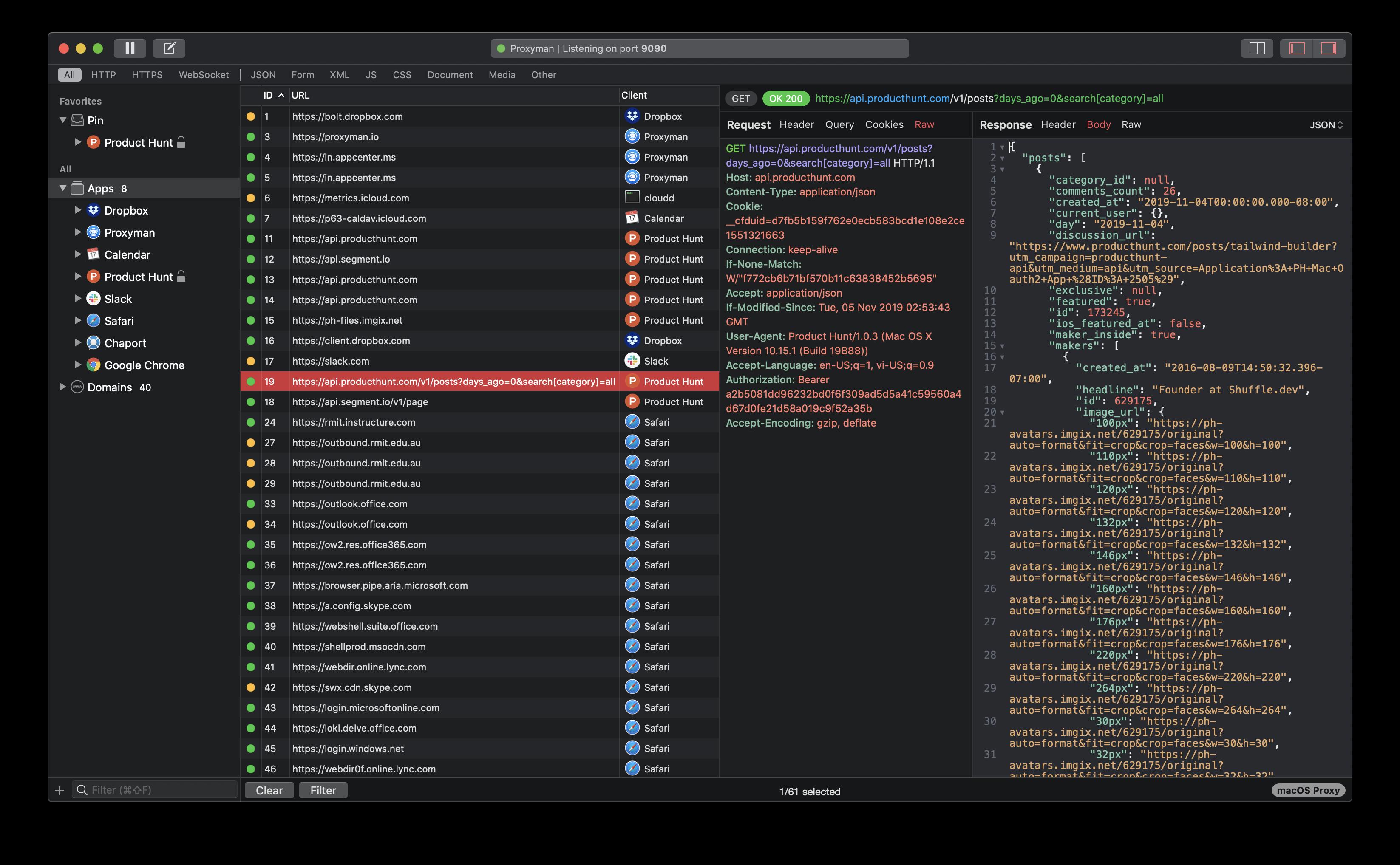Proxyman screenshot