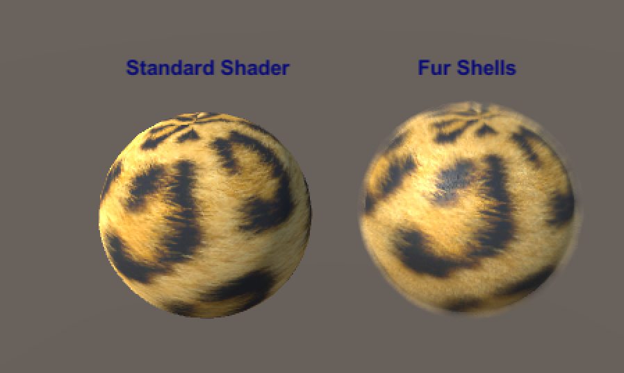 Fur Shell Example