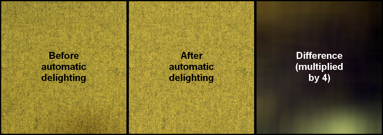 Delighting Example