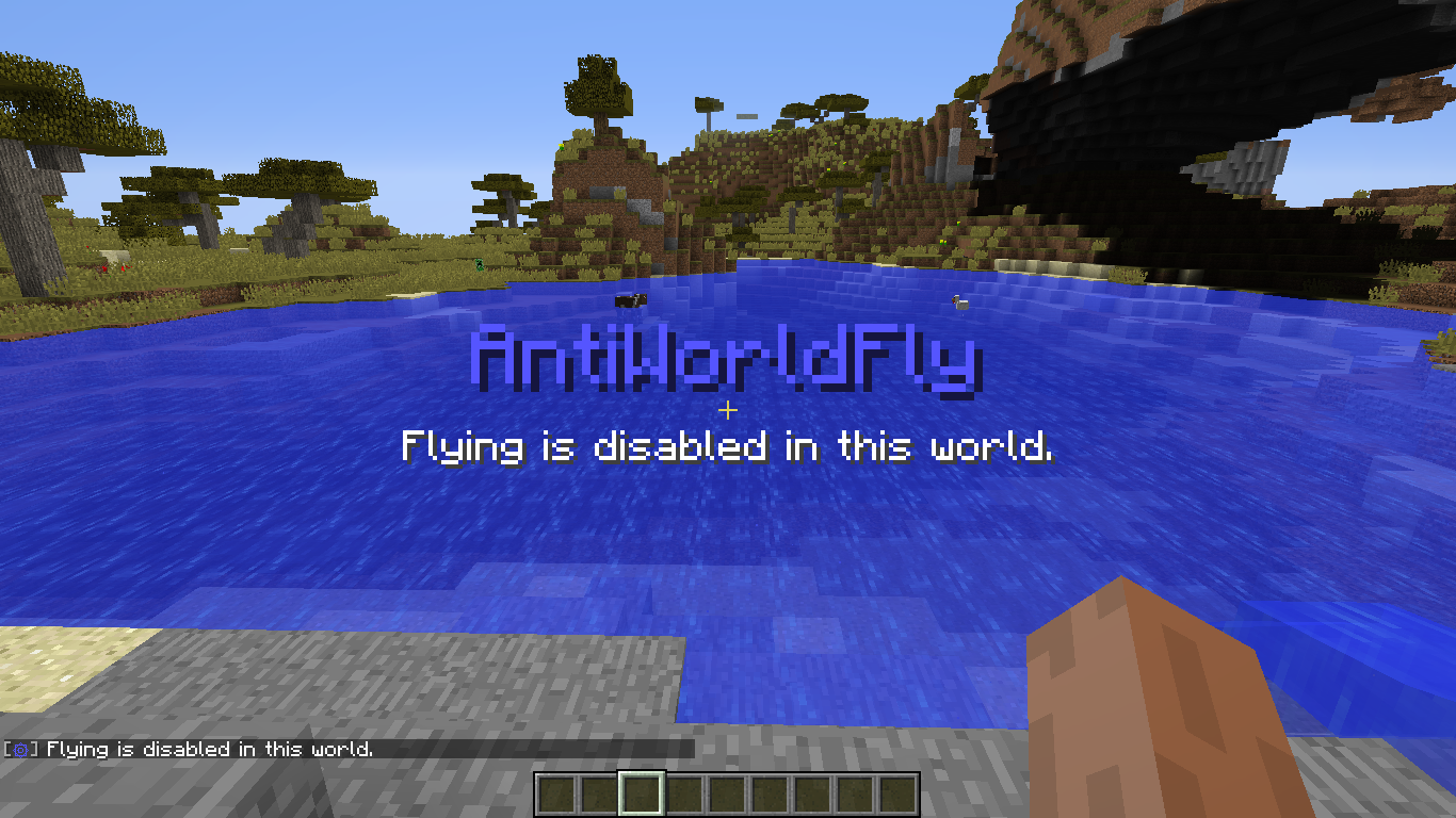 Flying blocked on world join.