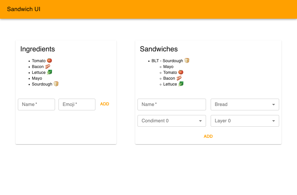 sandwich-ui screenshot