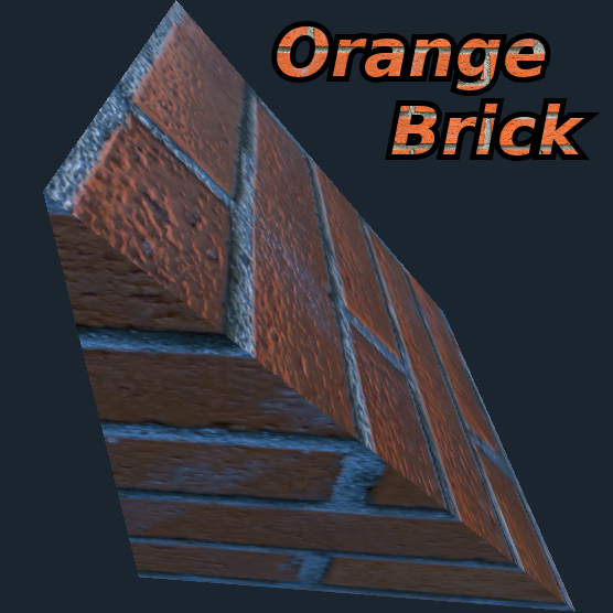 Orange Brick Material's icon