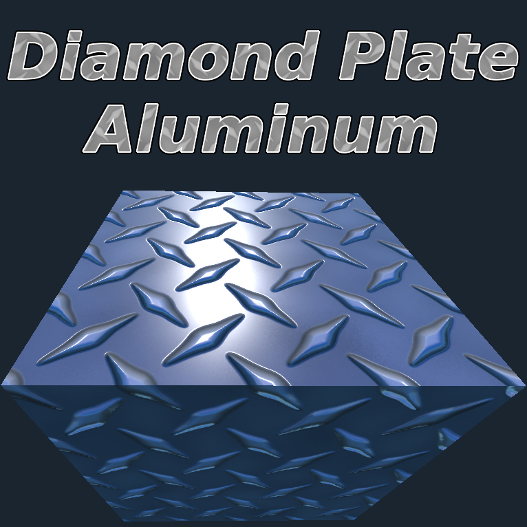Diamond Plated Aluminum Material's icon