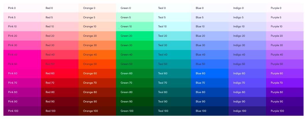 Lyft color scheme