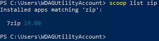 scoop list zip