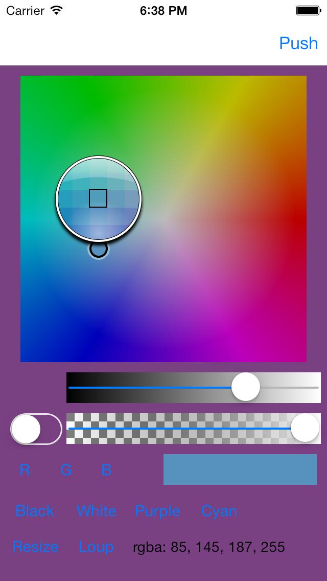 Color Picker - Loupe