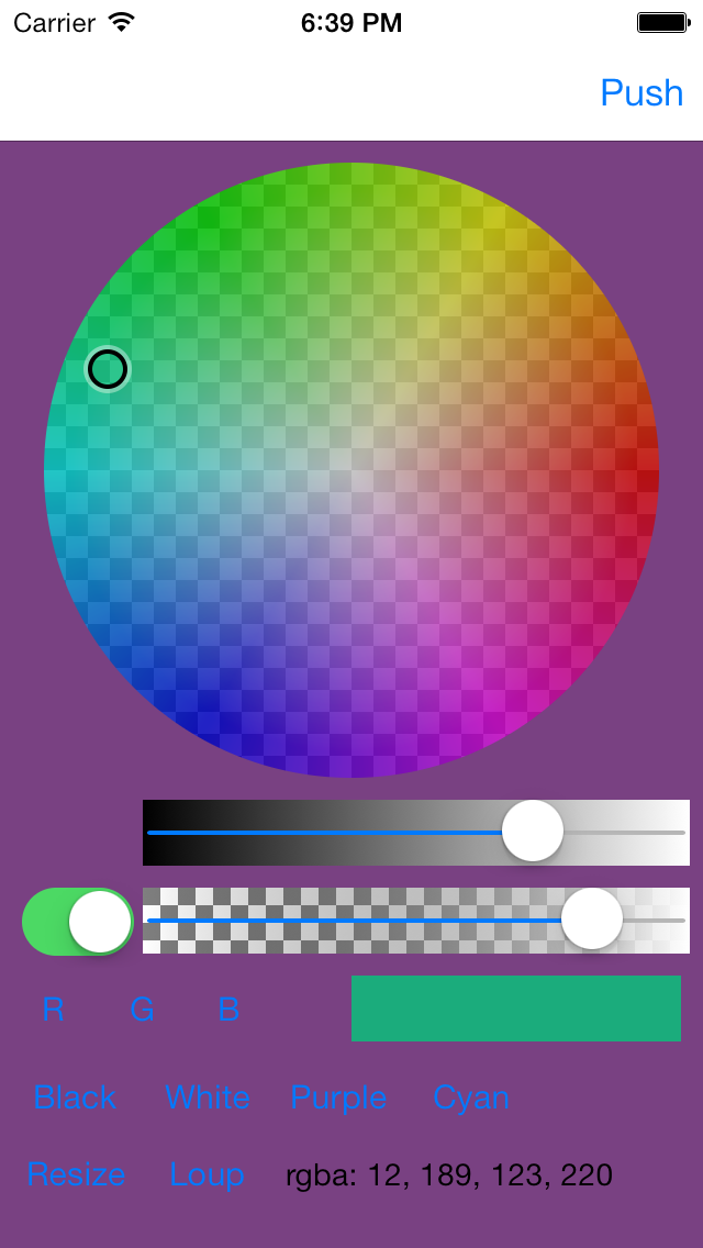 Color Picker - Circle