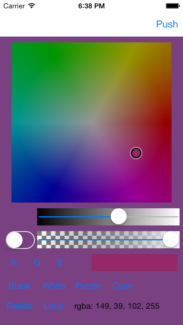 Color Picker - Default