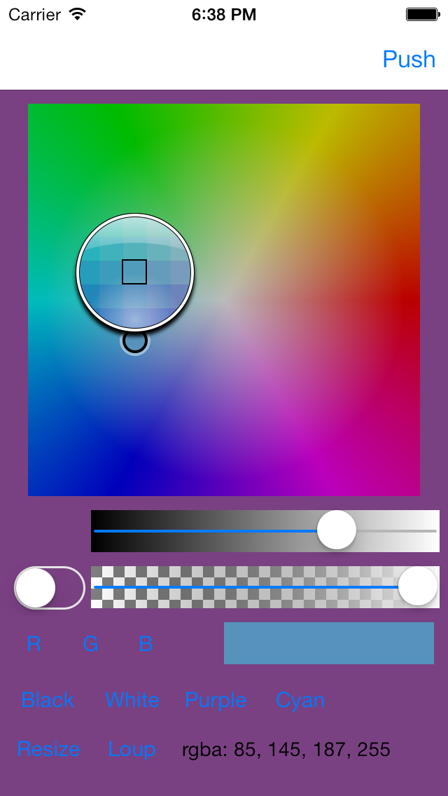 Color Picker - Loupe