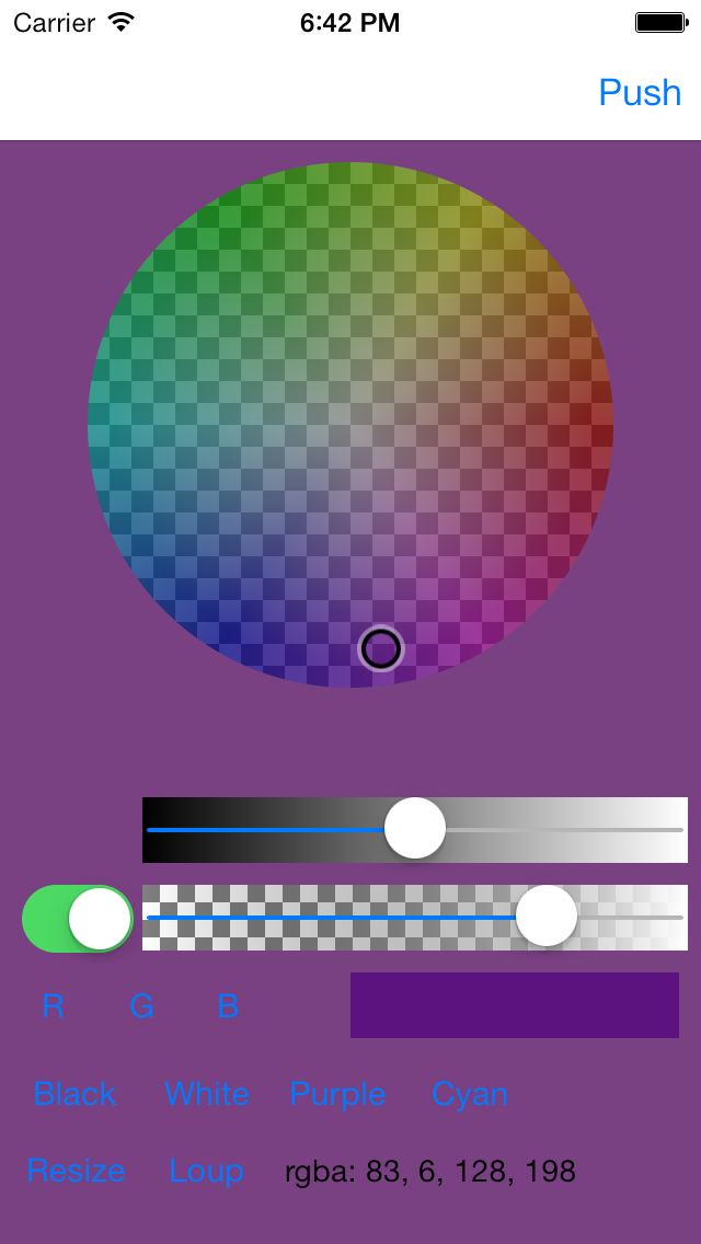Color Picker - Resize
