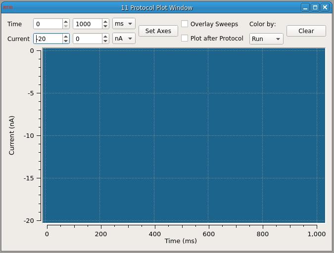Clamp Protocol Window UI