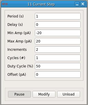 Current Step GUI