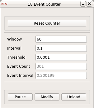 Event Counter GUI