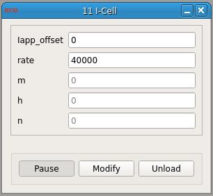 I-Cell GUI