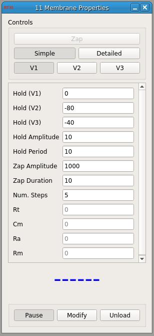 Membrane Test GUI