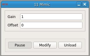 Mimic Signal GUI