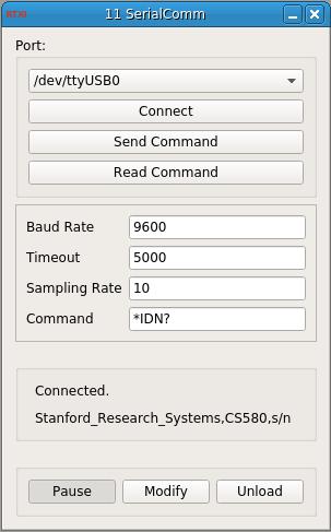 Serial Communication GUI