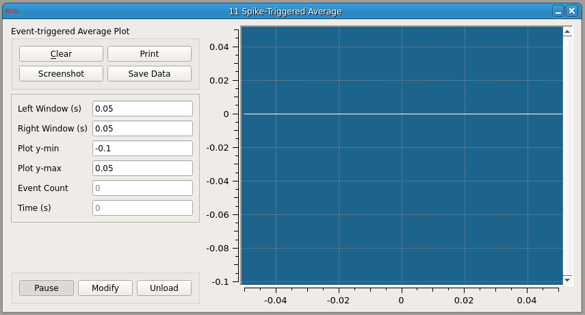 Spike-Triggered Average GUI