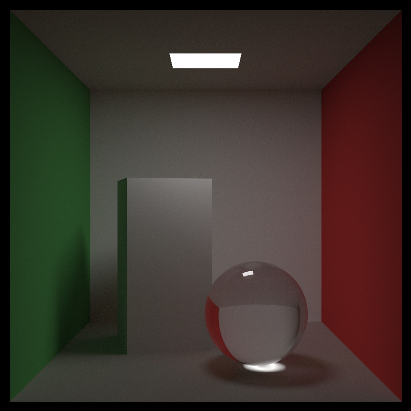 cover scene - ray tracing 3