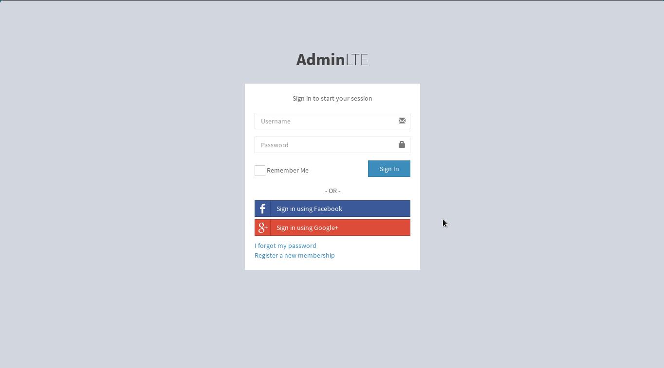 GitHub - DuvanSGF/Django-with-Admin-LTE: Django -LTE