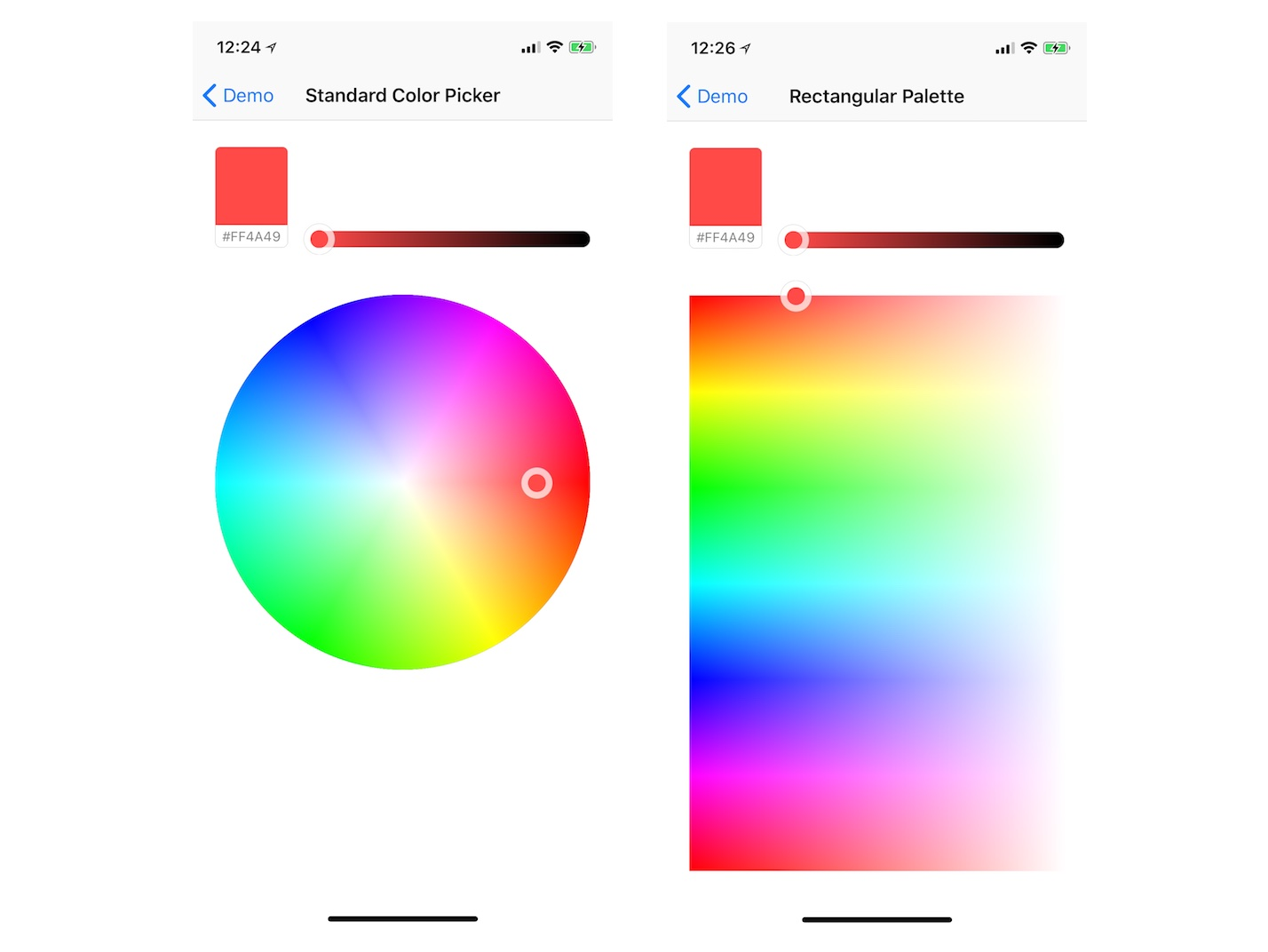 Default HSB Color Picker Preview