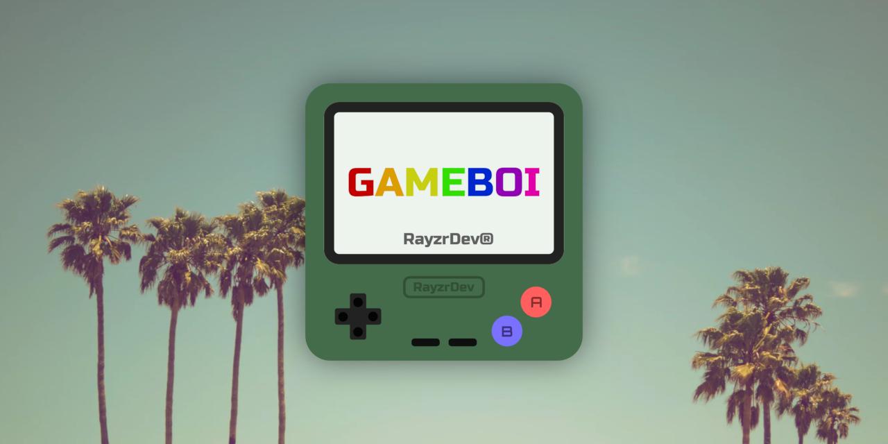 Gameboi | Discord Bots