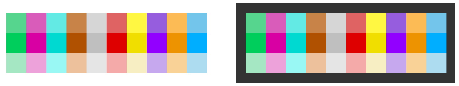 Color palette for charts