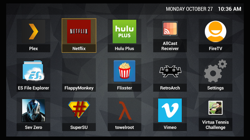Firedtv Launcher Replacement Home Launcher Amazon Fire Tv