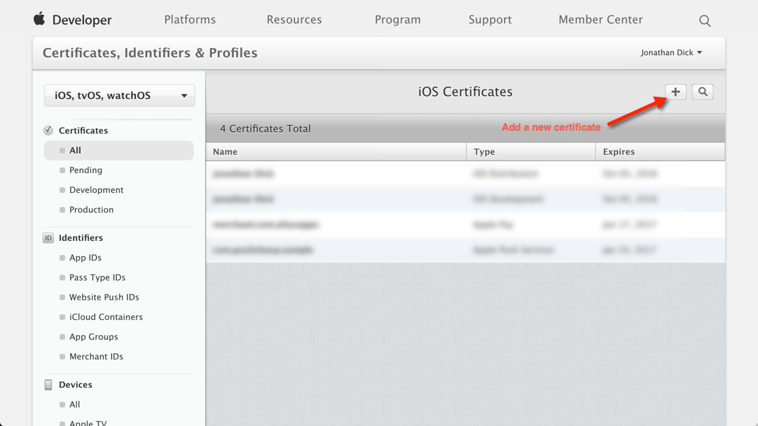 How to Configure & Send Apple Push Notifications using