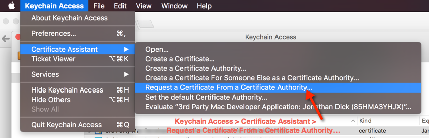 Step 6. Create a Certificate Signing Request