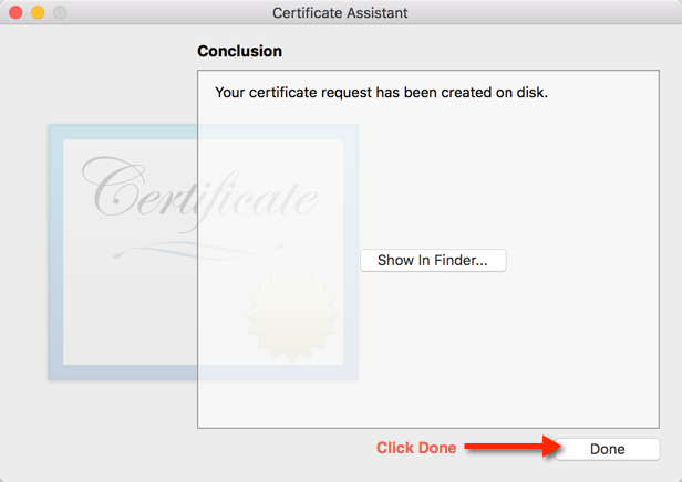 Step 9. Complete Certificate Signing Request