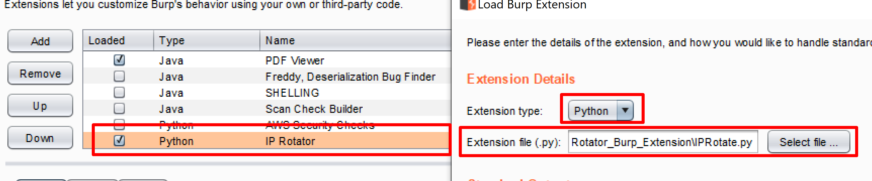 Extension Setup