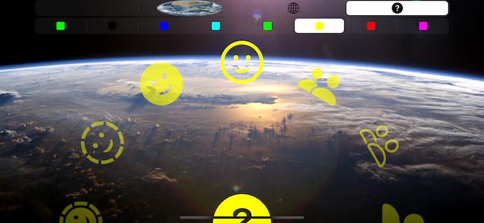 The HUD Mode Test App (Template SF Symbols Image)