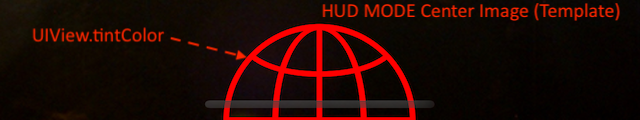 How the Options Affect the HUD Center