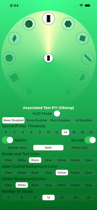 The Test Harness Screen