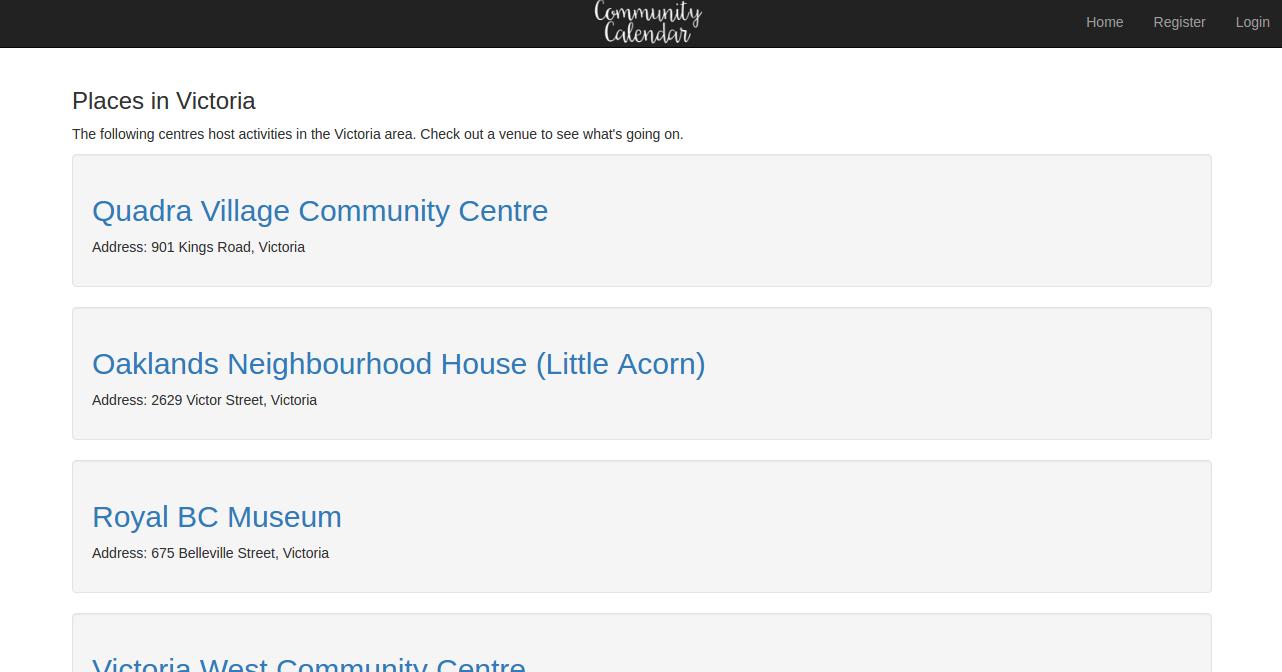 """Screenshot of a Region Search"""
