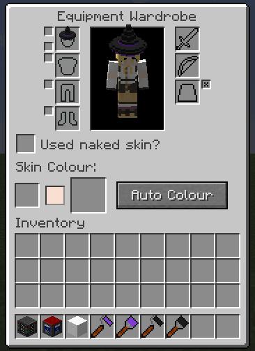 WIP Alpha Armourers Workshop Weapon Armour Skins WIP - Skin para minecraft pe de sasuke