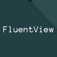 FluentView logo