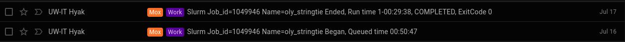 Screencap of Mox Stringtie runtime