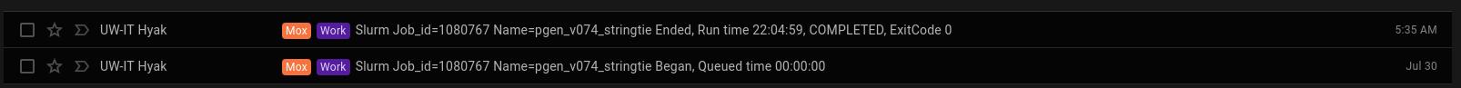 Screencap of Pgenerosa_v074 Stringtie runtime on Mox