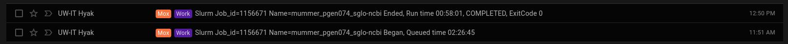 pgen-v074 vs sglo-ncbi MUMmer runtime screencap