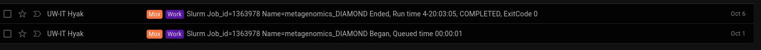 Screencap of DIAMONDA BLASTx Mox runtime
