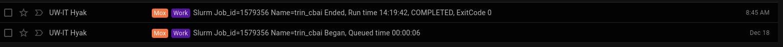 screencap of C.bai trinity runtime