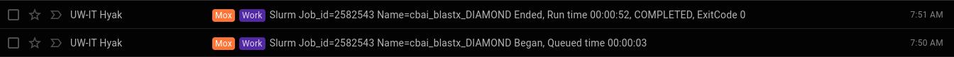 diamond blastx runtime