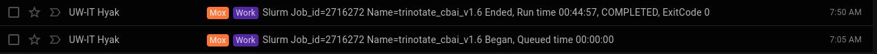 cbai v1.6 trinotate runtime