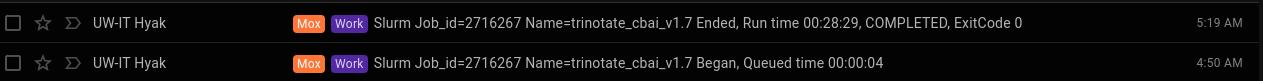 cbai v1.7 trinotate runtime