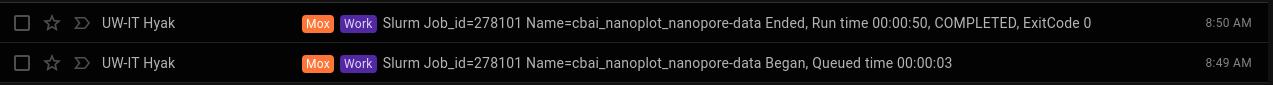 NanoPlot cumulative runtime for all three C.bairdi NanoPore data sets