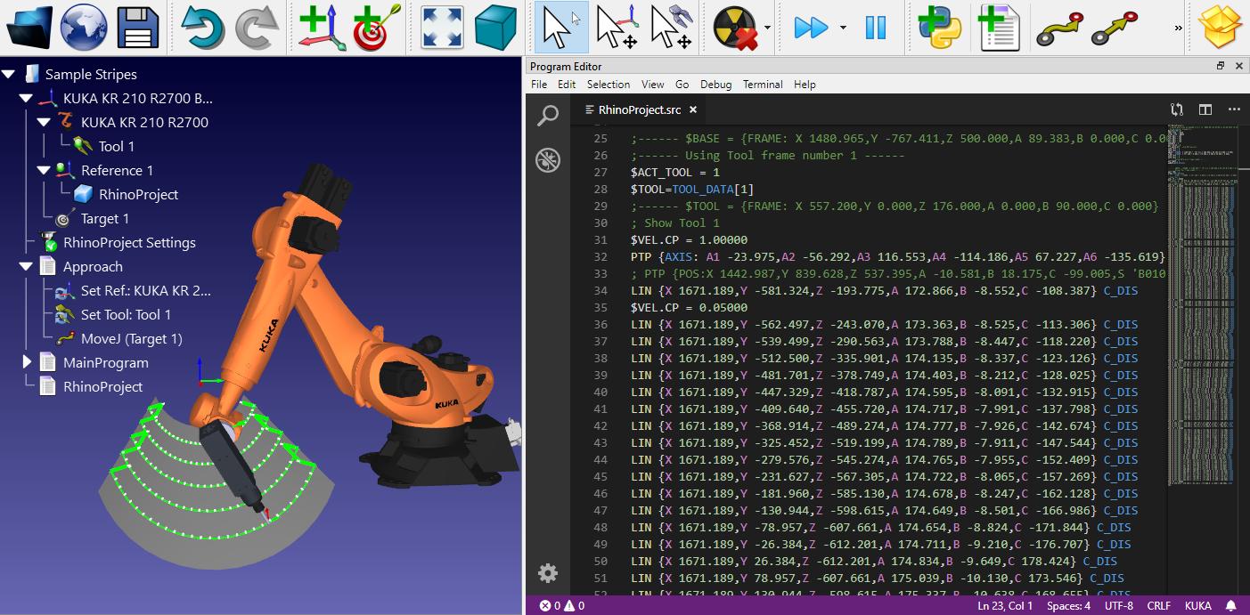 VSCode in RoboDK